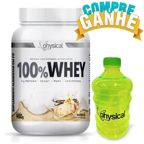 100% Whey Sabor Baunilha (900g) - Physical Pharma