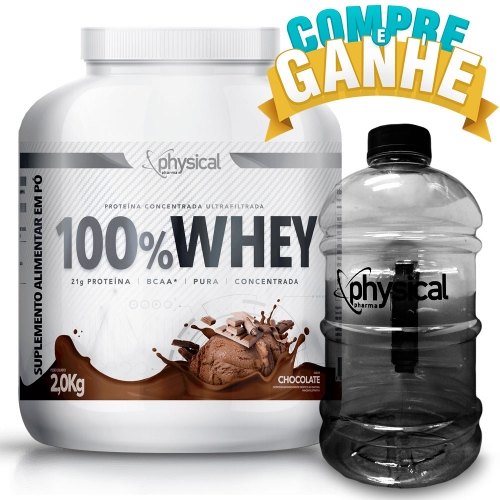 100% Whey Sabor Chocolate (2kg) - Physical Pharma