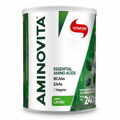 Aminovita Sabor Limão (240g) - Vitafor