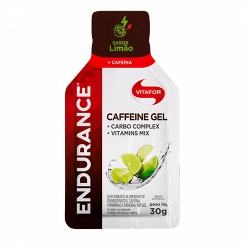 Endurance Caffeine Gel Sabor Limão (1 Sachê de 30g) - Vitafor
