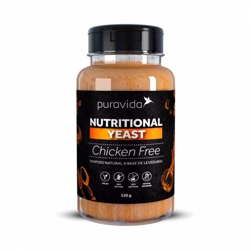 Yeast Nutricional Sabor Chiken Free (120g) - Pura Vida