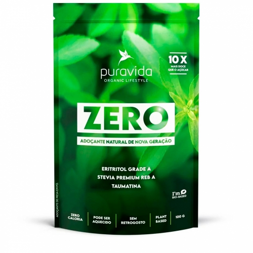 Zero Adoçante Natural (100g) - Pura Vida