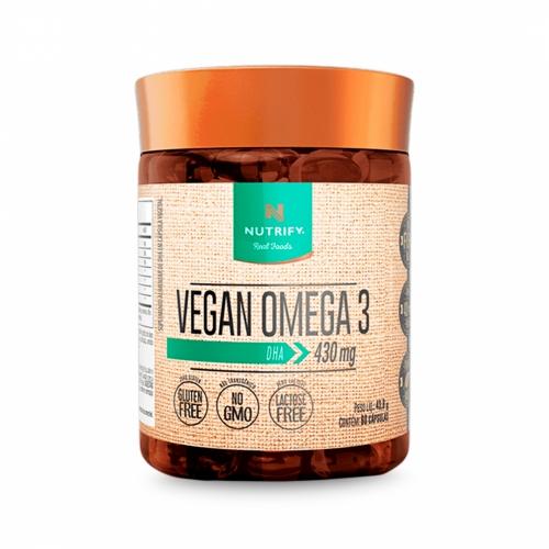 Vegan Omega 3 DHA (60 Cápsulas) - Nutrify