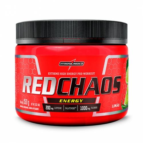 Red Chaos Energy Sabor Limão (150g) - Integralmédica