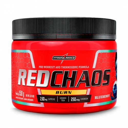 Red Chaos Burn Sabor Blueberry (150g) - Integralmédica