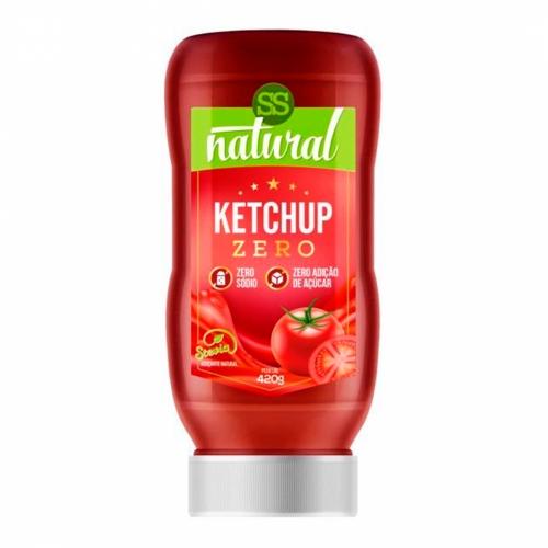 Molho Ketchup com Stevia (380g) - SS Natural