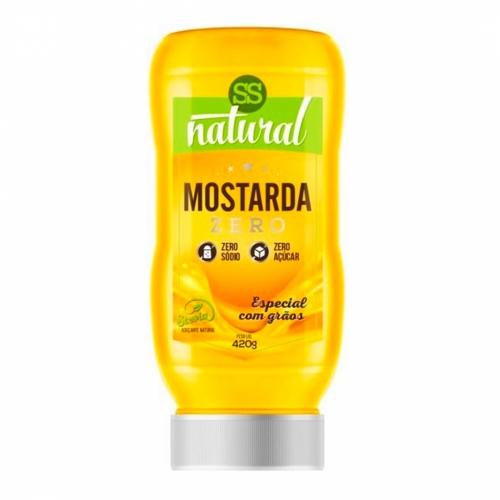 Molho Mostarda com Stevia (380g) - SS Natural