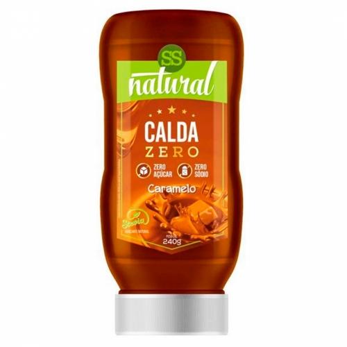 Calda Doce com Stevia Sabor Caramelo (240g) - SS Natural