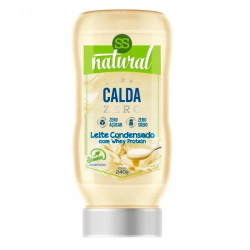 Calda Doce com Stevia Sabor Leite Condensado (240g) - SS Natural