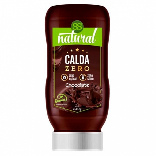 Calda Doce com Stevia Sabor Chocolate (240g) - SS Natural