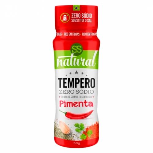 Tempero Sabor Pimenta (50g) - SS Natural