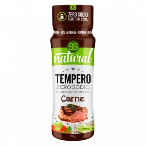 Tempero Sabor Carne (50g) - SS Natural