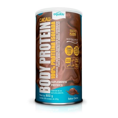 Body Protein Sabor Cacau (600g) - Equaliv