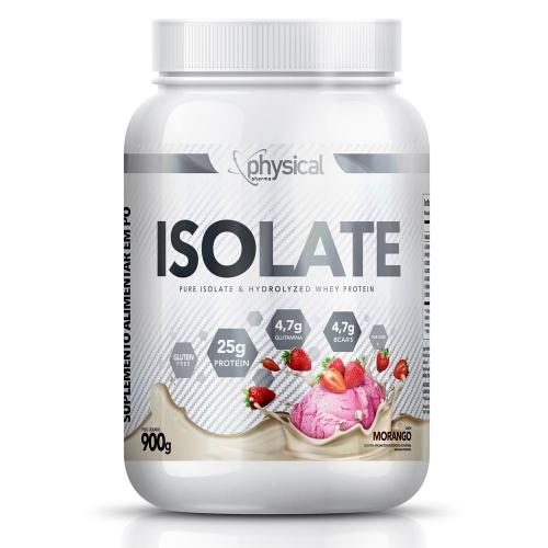 Isolate Sabor Morango (900g) - Physical Pharma