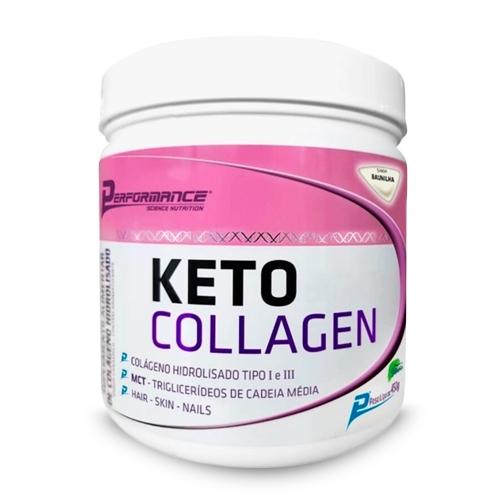 Keto Collagen Sabor Baunilha (450g) - Performance
