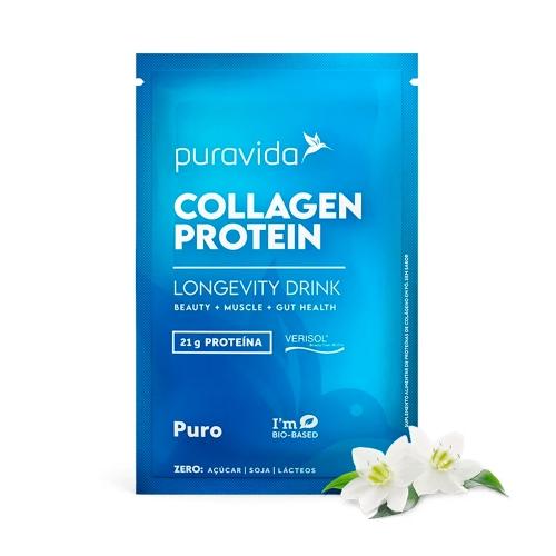 Collagen Protein Sabor Puro (1 Sachê de 23g) - Pura Vida