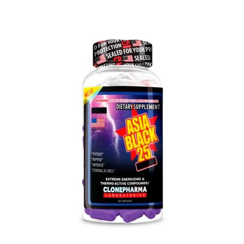 Asia Black (60 Cápsulas) - Clone Pharma