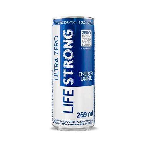 Energético Ultra Zero sabor Tradicional (269Ml) – Life Strong