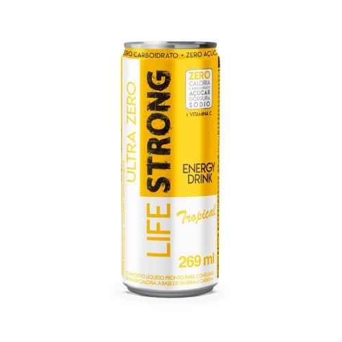 Energético Ultra Zero sabor Tropical (269Ml) – Life Strong