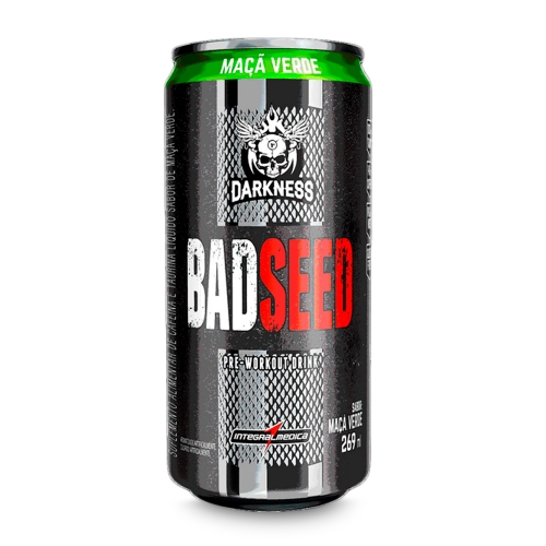 Bad Seed Drink Sabor Maça Verde (269mL) - Integralmédica
