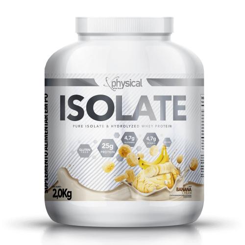 Isolate Sabor Banana (2kg) - Physical Pharma