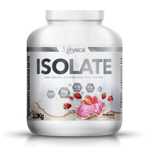 Isolate Sabor Morango (2kg) - Physical Pharma