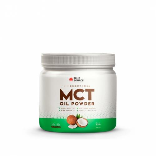 MCT Oil Powder Sabor Coconut Cream (300g) - True Source