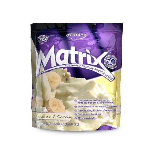 Matrix 5.0 Sabor Banana & Cream (2.270g) - Syntrax