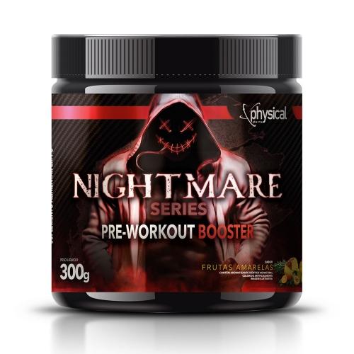 Nightmare Series Pre-Workout Booster Sabor Frutas Amarelas (300g) - Physical Pharma