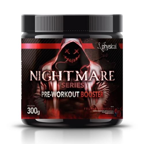 Nightmare Series Pre-Workout Booster Sabor Frutas Vermelhas (300g) - Physical Pharma