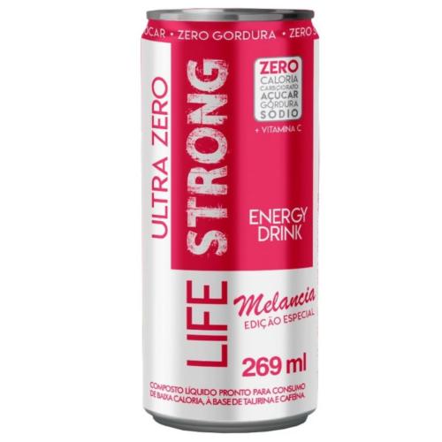 Energético Ultra Zero sabor Melancia (269Ml) – Life Strong