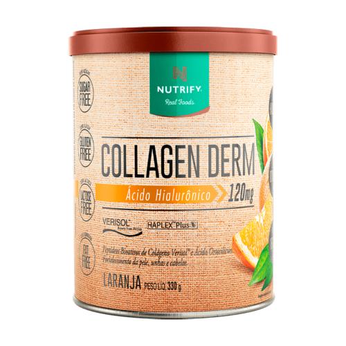 Collagen Derm Sabor Laranja (330g) - Nutrify