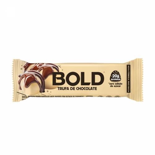 Bold Bar Sabor Trufa de Chocolate (1 Unidade de 60g) - Bold Snacks