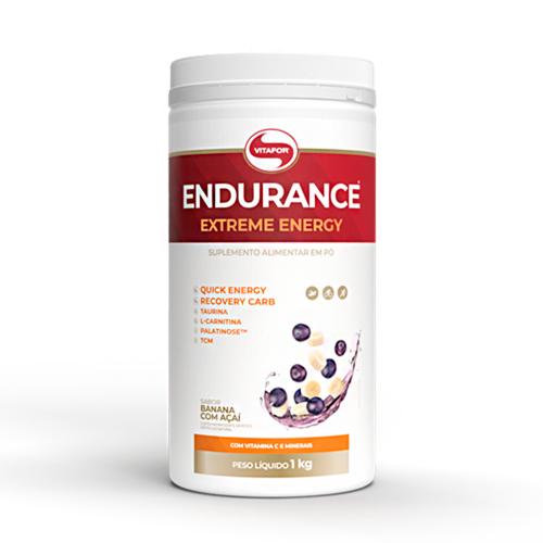 Endurance Extreme Energy Sabor Banana c/ Açaí (1kg) - Vitafor