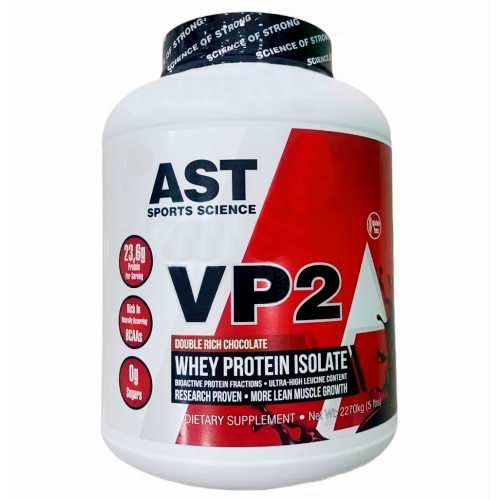 VP2 Whey Protein Isolate Sabor Chocolate (2,270g) - AST Sports Science