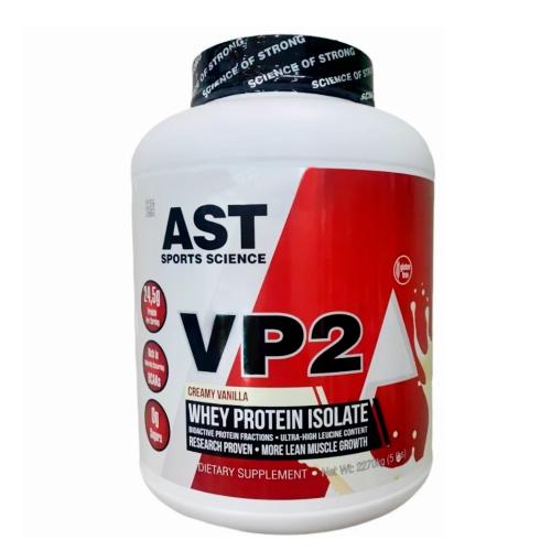 VP2 Whey Protein Isolate Sabor Morango (2,270g) - AST Sports Science