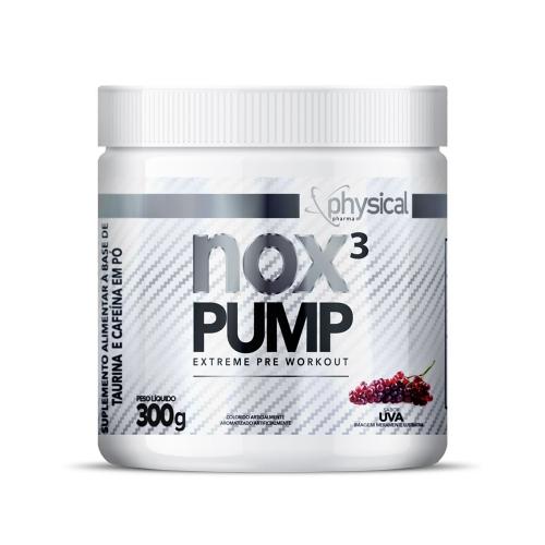 NOX 3 PUMP Sabor Uva (300g) - Physical Pharma