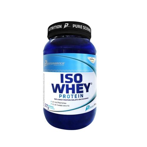 Iso Whey Protein Sabor Morango (909g) Performance Nutrition
