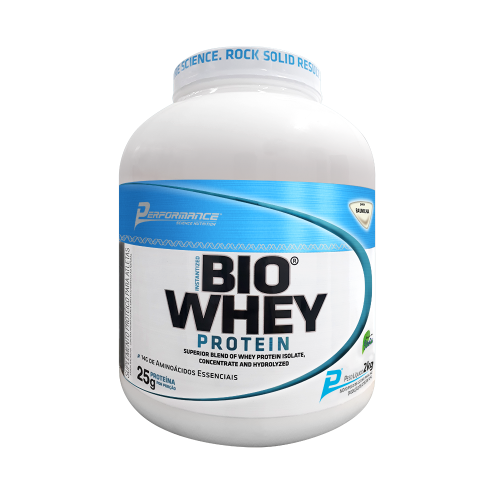 Bio Whey Protein Sabor Baunilha com Stevia (2kg) - Performance Nutrition