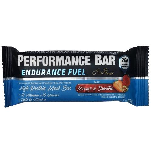 Performance Bar Endurance Fuel Sabor Morango e Baunilha (1 unidade de 60g) - Performance