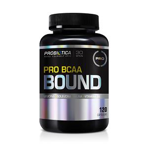 Pro BCAA Bound Probiótica - 120 Cápsulas