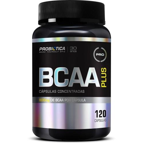 BCAA Plus 800mg Probiótica - 120 Cápsulas