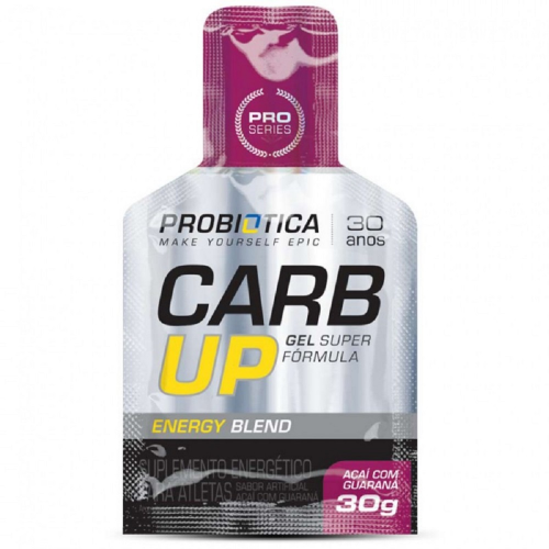Carb UP Gel Morango Silvestre Probiótica - 30 g