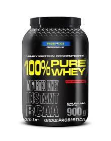 100% Pure Whey Protein Probiótica Baunilha - 900g