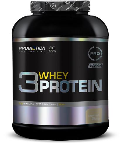 3 Whey Protein Sabor Baunilha (2Kg) - Probiótica