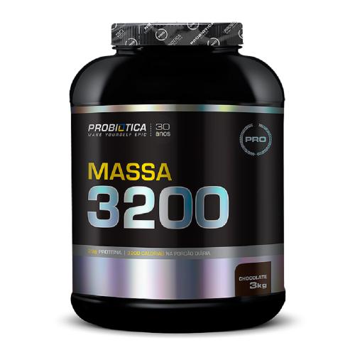 Massa 3200 Anti-Catabolic Chocolate Probiótica - 3 kg