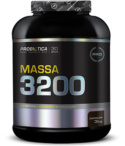 Massa 3200 Anti-Catabolic Chocolate Probiótica - 3 kg