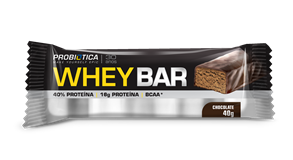 Whey Bar Chocolate Probiótica - 40 g