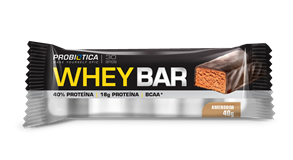 Whey Bar Amendoim Probiótica - 40 g