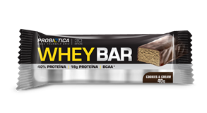 Whey Bar Cookies Probiótica - 40 g